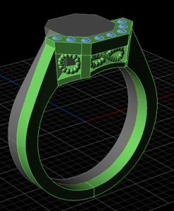custom northern ireland jewellery 3d render van scoy portadown craigavon unique specialised