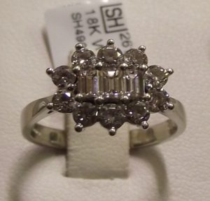 second hand pre owned diamond ring